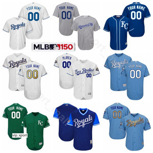 Baseball 15 Whit Merrifield maglie 27 Adalberto Mondesi 12 Jorge Soler 2 Chris Owings 13 Salvador Perez 4 Alex Gordon Nome personalizzato