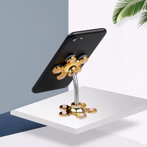 Soporte del teléfono Soporte del lechón Rotación giratoria mágica de 360 grados Soporte para teléfono móvil Soporte para coche Soporte para smartphone Tablets