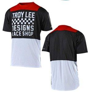 TLD de descenso en bicicleta ciclo jersey de manga corta los hombres de bicicleta de montaña verano de motocross camiseta