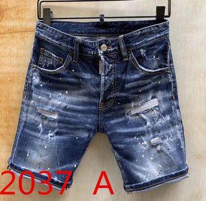 2020 Mens Designer Jeans Men Hip-Hop Biker Jeans Striped Cotton Denim Military style Hip Hop summer men's denim shorts men jeans #1122