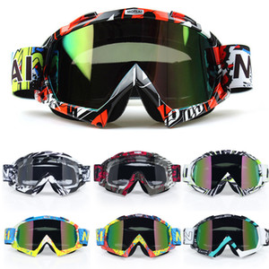 Motocross Motocicleta Gafas Atv Off Road Dirt Bike A prueba de polvo Racing Gafas Anti Wind Eyewear Mx Goggles