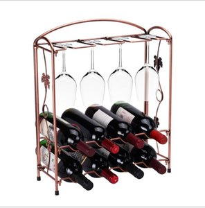 Estante para vino desmontable Copa de vino tinto europeo Copa de vino tinto Soporte de vidrio Utensilios para bar Accesorios de mesa de bricolaje Estantes para vino