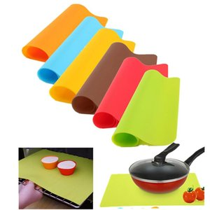 40x30cm Silicone Pad Mat Bakeware Mat Silicone Oven Heat Insulation Pad Cookies Mats Baking Liner Non-stick Thick Kitchen Tools
