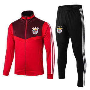 2020 Benfica Treino Badminton Jacket Benfica Sports Set Badminton Wear Tamanho S-XXL