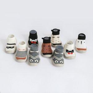 Cartoon Tier Säuglingsbabyschuhe Socken Kinder Bodensocken Neugeborenes Baby Gummi Boden Rutschfeste Kleinkindsocken