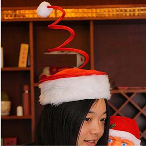 Новый год Рождество спираль Весна Hat Личность Весна Cap Xmas Теплые шапки Дети Рождественская вечеринка Подарочные товары
