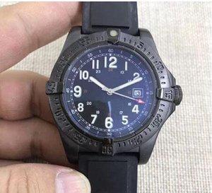 2018 Novo produto Movimento automático 1884 espelho pulseira de borracha SuperQuartz cristal de safira o novo céu colt data piloto relógio dos homens