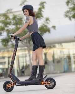 Velocidad de hasta 45 km H, INOKIM OX Super Series 10 pulgadas Neumáticos Kick Scooter eléctrico de ruedas plegable fácil de llevar Scooter eléctrico