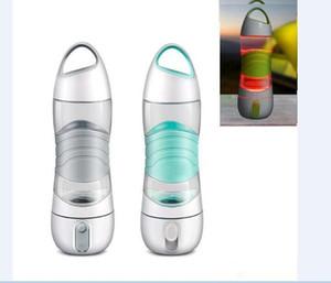 Types de bouteilles d'eau LED intelligents Humidificateur Tasses sportives Coupes Beauté Spay Cup Hydratant Lumière Nuit Rappelez Boisson Tasses d'urgence SOS
