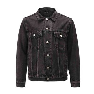 2020 New Fashion Mens Denim Jacket Slim Men Denim Jacket Solid Male Jean Jackets Men Cowboy Fashion Clothing Hip Hop Size S-XL