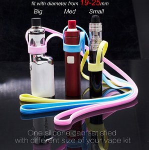 MOQ 1pcs Silicone Necklace Lanyard carrying holder Fit Innokin Endura T18 Innokin Endura T22 Tank Electronic Cigarette Ecig Accessories