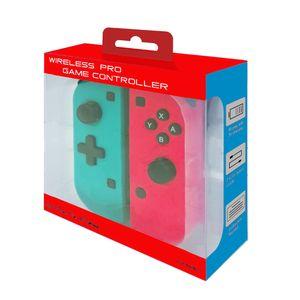 левый и правый Wireless Bluetooth Pro Геймпад контроллер для Nintendo консоли коммутатора Gamepads контроллер Джойстик игры Shock Бесплатная доставка