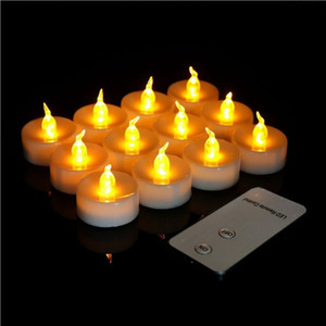 """SXI Remote Control LED Kerze Teelichter Batteriebetriebene flackernde Teelicht Dia 1.4"""" Electric Gefälschte Kerze für Votiv / Wedding"""