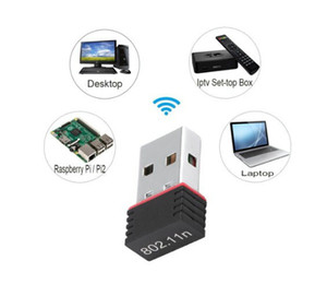 Nano 150M Wifi Adapter Mini USB IEEE 802.11n suporta criptografia WEP WPA de 64/ 128 bits para Windows Vista MAC Linux