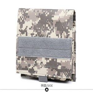 Tactical MOLLE Bolsa para teléfono móvil Army Belt Bag Outdoor Camping Senderismo Cintura Bolsa Fanny Pack Holster Funda para teléfono celular