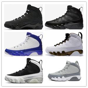 2019 дешевая распродажа 9 9s bred LA баскетбольная обувь мужчины OG Space Jam с высоким содержанием антрацита медная статуя бароны кроссовки дешевые IX 9s спортивная обувь