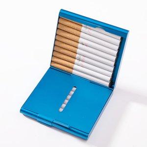 Double Sided flip Esile Fumo Holder in lega di alluminio da tasca fumo bagagli Custodia protettiva Box Cover