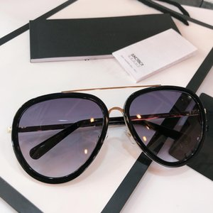 Бренд щит солнцезащитные очки дамы полу рамка Париж роскошный дизайнер женщины солнцезащитные очки uv400 защита ацетат 4296 очки люнеты