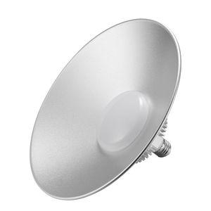 Bulb Bright LED UFO luzes 50W Mining Lâmpada CHAPÉU DE PALHA E27 Energy Saving Light Silver Straw Hat Chandelier estilo industrial Vivendo Lamp Sala