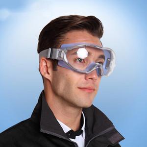 Transparente Óculos Óculos à prova de vento à prova de choque Tático Anti-fog Equitação de Trabalho Anti-poeira industrial Trabalho Eye Protective Glasses