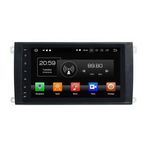 "4 GB de RAM 64 GB ROM PX5 IPS Android 8.0 Octa Core 2 din 8 ""Coche DVD Radio GPS para Porsche Cayenne 2003-2010 Bluetooth WIFI TV USB Espejo de enlace"