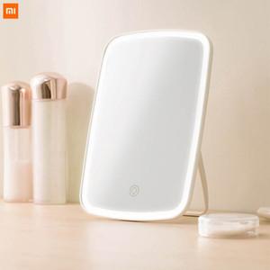 Yeni Orjinal Xiaomi Mijia Akıllı taşınabilir makyaj aynası masaüstü ışık portatif katlanabilir ışık ayna yurt masaüstü açtı