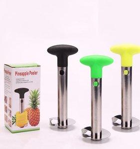 Acciaio inossidabile Pineapple Peeler 3 colori di frutta Corer Peeler staminali di rimozione della taglierina della cucina con l'imballaggio al OOA6601-1