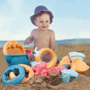 Children's Baby Dug Sand Shovel Play Water Beach Set 3-6 Parent-Child Fun Toys Kids Gifts