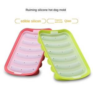 Silicone Sausage Mould Homemade Hot Dog Diy Mould Sausage Shelf Sausage Box Silicone Food Mould