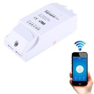 Sonoff TH16 DIY 16A Temperatura e Umidade Módulo Remote Control WiFi Switch Inteligente para Smart Home, Suporte iOS e Android
