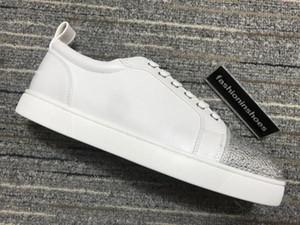 новый дизайнер обуви звезда кристалл мартин марочные Младший Шипы Orlato Mens Плоский красный днища GZ Канье бегун тренер платформы тройные Chaussures