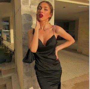 Strap Sexy Slim V-Neck Bodycon Dresses Sleeveless Skinny Solid Color Ladies Club Dresses Women Designer Diamond