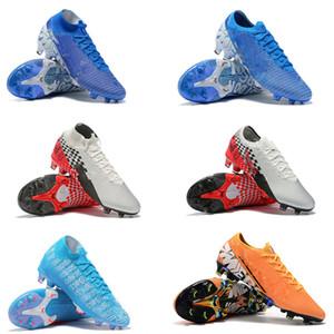 2019 핫 Men 절묘한 Mercurial Vapors XIII Elite FG CR7 Ronaldo Neymar NJR SHHH 13360 Low 발목 축구 축구 Shoes Size 39-45