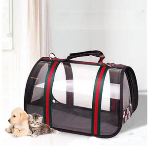Calle perro Portadores transpirable gato del perro de Bolsas universales y al aire libre Caja viaje cómodo deporte debe fuentes del animal doméstico envío