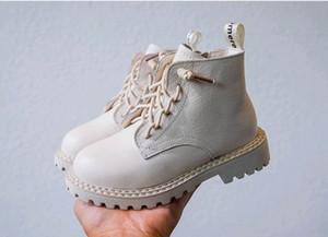 Üst kalite ile erkekler için üç renk çocuk moda ayakkabılar 2018 çocuk hakiki deri ayakkabı