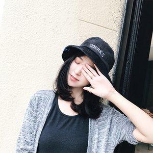 Rahat Rahat For Ladies Koreli Katı Kadınlar Harf Nakış Kadife Kepçe Hat K Marka Edebiyat Vintage Balıkçı Şapka