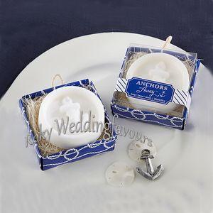 20PCS Anchor sapone profumato Favori Bridal Shower Party Favors Wedding nautico regali della decorazione Tabella del partito