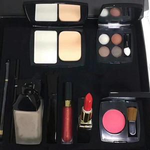 Высококачественные косметические наборы косметики укрыватель Карандаш для бровей Румяна Губная помада карандаш Карандаш для глаз Макияж Kit Foundation, Big Box Set доставка DHL