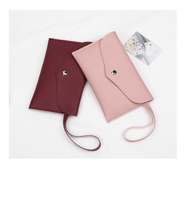 2020 PU new ladies wallet long simple wallet multi-card multi-color Korean soft leather coin purse clutch YD0533