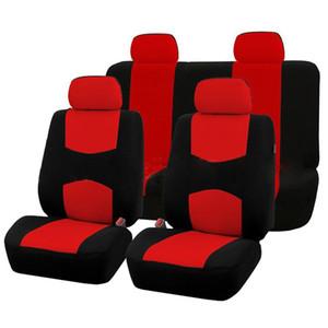 DragonPad 9Pcs Housses de sièges d'auto pour 5 Set siège auto Application universelle 4 saisons disponibles Fournitures Beauté Accessoires