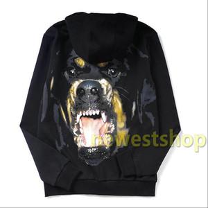 2020 nuevo otoño de lujo dado la impresión Ropa para hombre de cabeza grande del perro sudadera con capucha de alta calidad mujeres camiseta de moda Puentes capucha diseñador