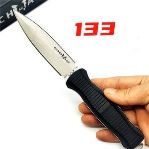 BENCH Infidel 133 Doppel Vorderseite Tactical Feste Messer Outdoor-Camping-gerades Messer mit Boltaron Mantel 140 940 3300 535 Butterflymesser
