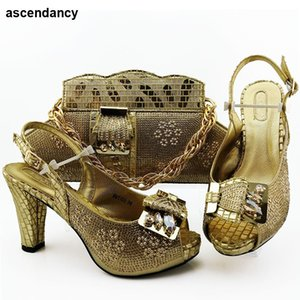 Мода итальянский обуви и сумка Matching Set высокого качества партии женщин Насосы Женская обуви Нигерийский Style обувь и сумка Set