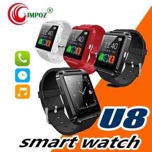 Smartwatch 블루투스 Smart Watch U80 for iPhone IOS 안드로이드 스마트 폰웨어 클럭 웨어러블 장치 Smartwach PK U8 GT08 DZ09 W8