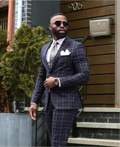 Negro esmoquin de boda formal de los hombres Traje Slim Fit para hombre trajes a medida novio traje de chaqueta de los pantalones de la chaqueta de la boda del baile de promoción con chaleco de 3 piezas