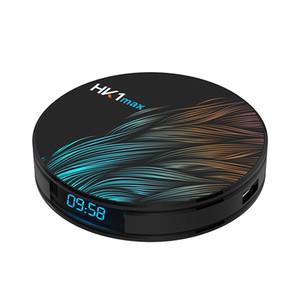 HK1 MAX الروبوت 9.0 TV BOX 2G16G 4GB 32GB RK3318 رباعية النواة 2.4G / 5G المزدوج واي فاي تعيين كبار مربع