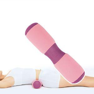 Yoga Bolster Per Massaggi Fisioterapia elastico Rimbalzo di supporto non Appiattisci tratto lombare di sostegno del ginocchio Dolore Yoga Pillow Hot Deal