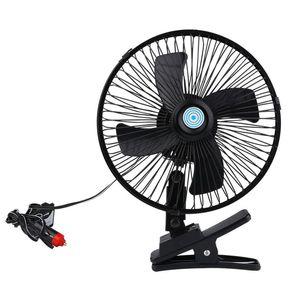 Fan Araç Soğutma Düşük Gürültü Klima Soğutucu Ayarlanabilir Araç Soğutma 1pcs Araç Fan 12V 24V Oto Cooler Cars Klip Monteli