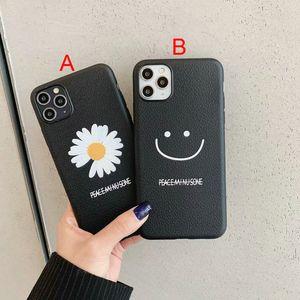 cassa del telefono mobile 2020 nuovo crisantemo fronte di sorriso per iphone 11 11Pro max Xr Xs max X 7 7plus 8 8plus 6 6plus TPU soft shell