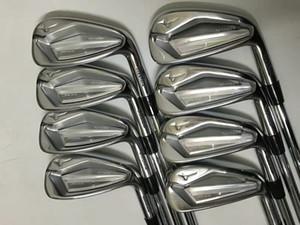 빠른 DHL 배송 새로운 남성 골프 클럽 미즈노 JPX919 골프 아이언 10 종류의 흑연 / 스틸 샤프트 가능